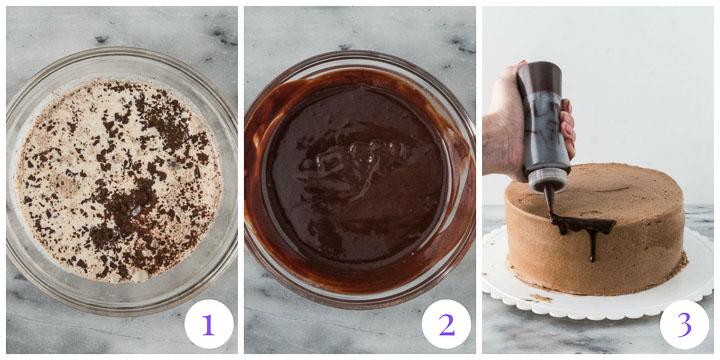 how to make a drip cake