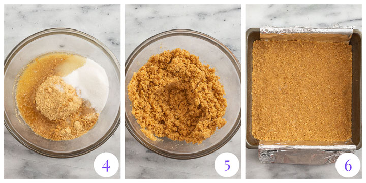 how to make graham crust step by step