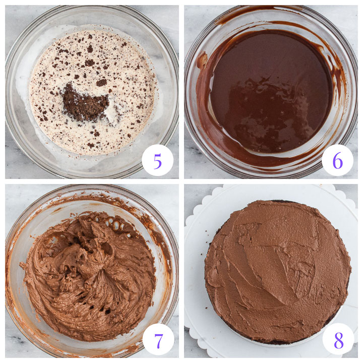 how to make whipped ganache filling