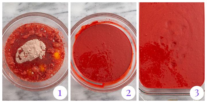 how to make red velvet cake batter