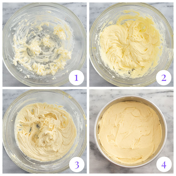 how to make cake step by step