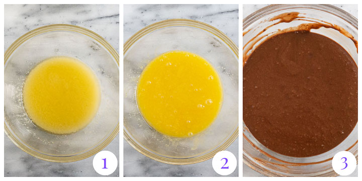 how to make chocolate cupcake batter step by step